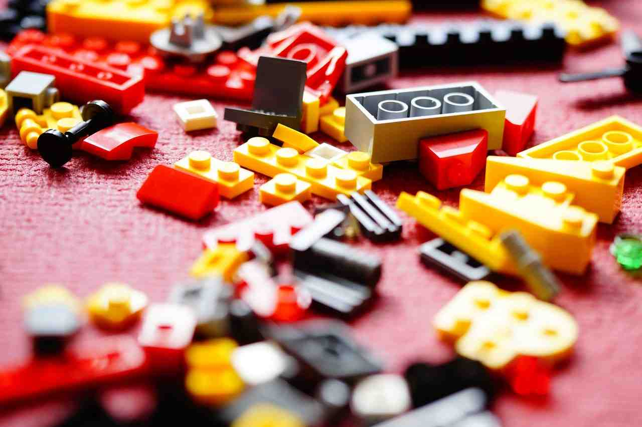 lego, build, blocs de construction